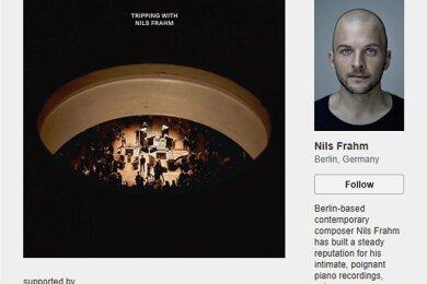 Der international erfolgreiche Pianist Nils Frahm veröffentlicht Anfang 2021 ein Livealbum - über Bandcamp bietet er der die Platte seinen Fans bereits jetzt zur exklusiven Vorbestellung in allen Formaten an.