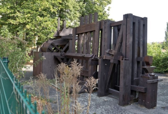Die Überreste der Agricola-Maschinen standen an der Otto-Schimmel-Straße in Glauchau.