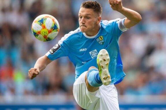Chemnitzer FC löst Vertrag mit Stürmer Frahn auf