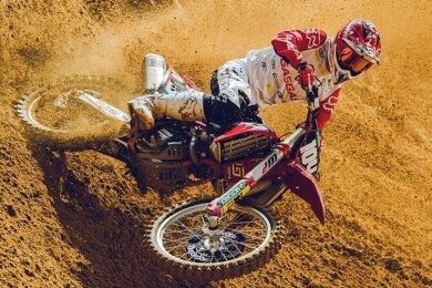 Motocrosser Jeremy Sydow startete in dieser Saison in der Junioren-Weltmeisterschaft. Anfang September verletzte er sich schwer.