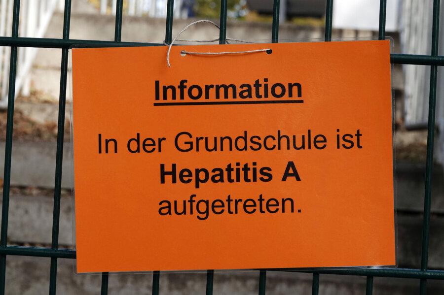 Hepatitis A-Fall in Chemnitz: Schulverbot für ungeimpfte Kinder