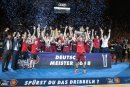 Bayern München beim Titelgewinn letzte Saison