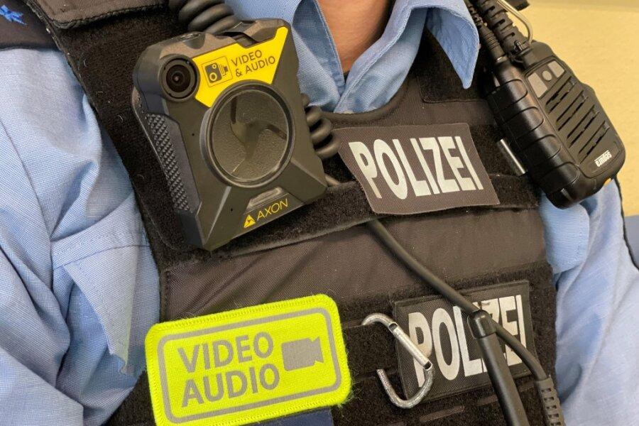 Polizisten im Landkreis Zwickau und im Vogtland erhalten Bodycams