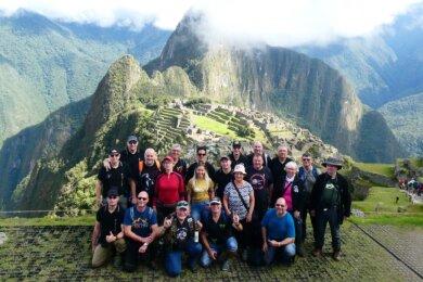 Die Tour führte die Gruppe um den Olbernhauer Falko Weber zu der von den Inka gegründeten Stadt Machu Picchu hoch oben in den peruanischen Anden.