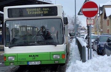 Will trotz Corona das Erzgebirge in Bewegung halten: der Öffentliche Personennahverkehr.