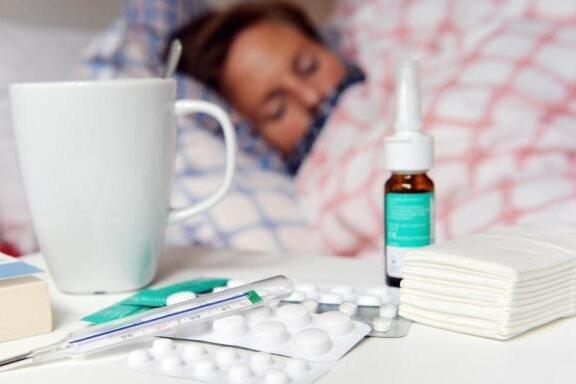 Viele Grippekranke ungeimpft