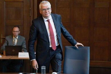 Hartmut Vorjohann - Sachsens Finanzminister