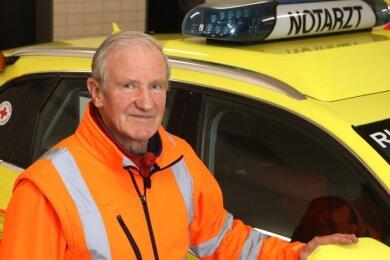 Notarzt Günter Kunze will auch nach dem gewalttätigen Vorfall Nachtschichten übernehmen, die nicht selten 15 Stunden dauern.