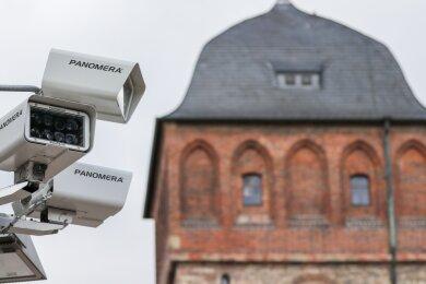 Nach jahrelangem Streit: Wenn es Versammlungen in der Innenstadt gibt, werden die Kameras vor Ort neuerdings abgeschaltet.