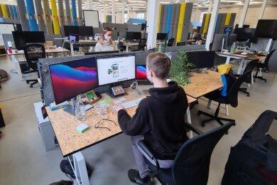 Bei Staffbase sind derzeit nur die wenigsten Büroplätze besetzt. Viele arbeiten im Homeoffice - wie zum Teil auch schon vor der Pandemie.