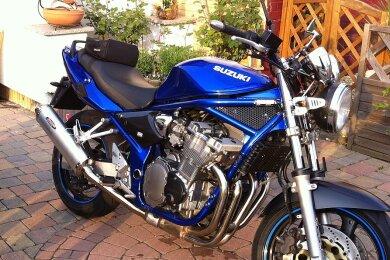 Eine solche Suzuki GSF 600 wurden in Dresden gestohlen und in Augustusburg aufgefunden.