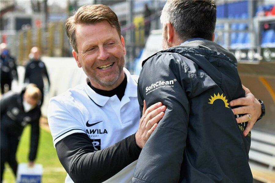 Rico Schmitt - Trainer des SV Meppen