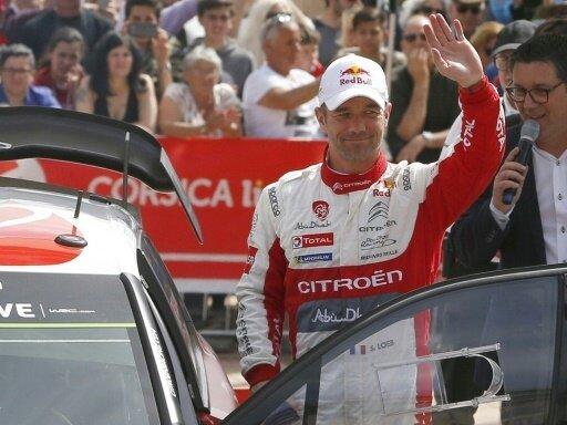 Sebastien Loeb im Peugeot gewinnt dritten WM-Lauf