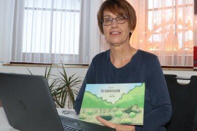 Kerstin Stelzer hat jetzt ihr erstes Kinderbuch veröffentlicht. Es hat über 35 Seiten und ist gespickt mit bunten Illustrationen.