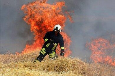 Der Brand hatte sich am Hofgraben bei Gersdorf ereignet.