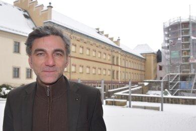 Daniel Petri (39) ist seit zehn Jahren Geschäftsführer der Kulturtochter der Stadt Oelsnitz.