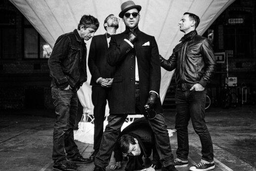 """Die fünf Musiker der Band Beatsteaks spielen auf dem diesjährigen Festival """"With Full Force""""."""