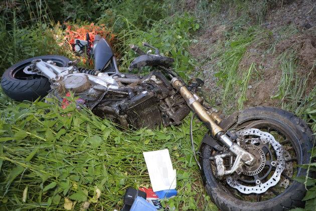 Motorradfahrer bei Kollision schwer verletzt