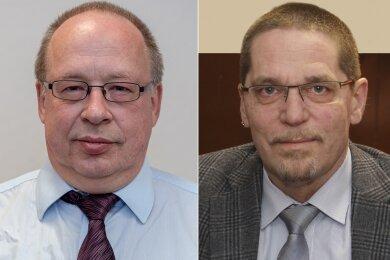 Lutz Hauswald und Steffen Arlt sehen sich beide als Fraktionschef.