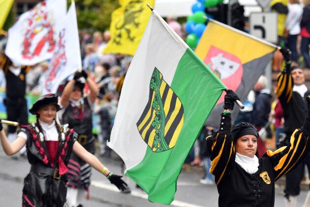 2016 wurde der Tag der Sachsen in Limbach-Oberfrohna gefeiert.