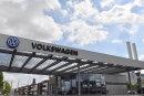Das VW-Werk in Zwickau-Mosel.