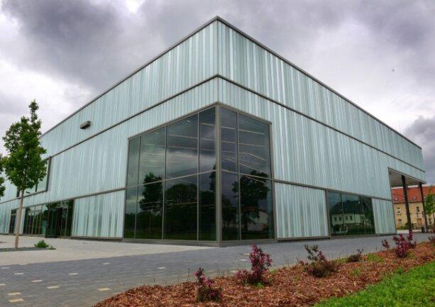 Fast fertig, aber bis ins kommende Jahr geschlossen: das neue Frankenberger Erlebnismuseum Zeit-Werk-Stadt.