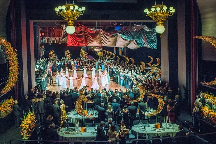Chemnitzer Opernball: Das rauschende Fest in Bildern