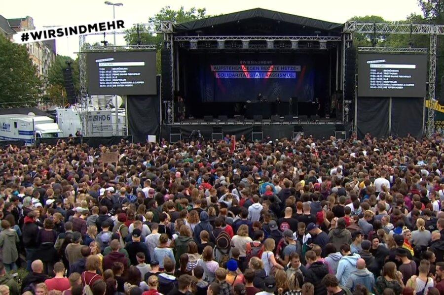 Fast eine Million Aufrufe für Livestream von «#wirsindmehr»-Konzert