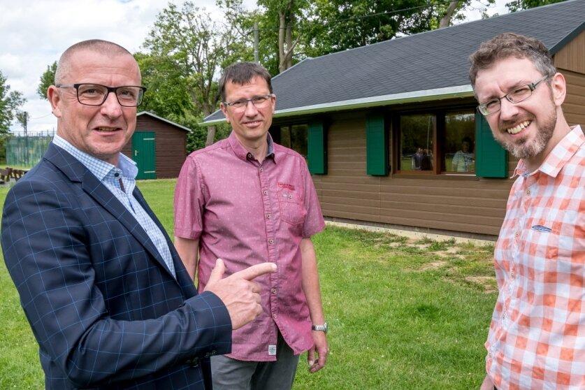Verein nimmt neues Mehrzweckgebäude in Beschlag