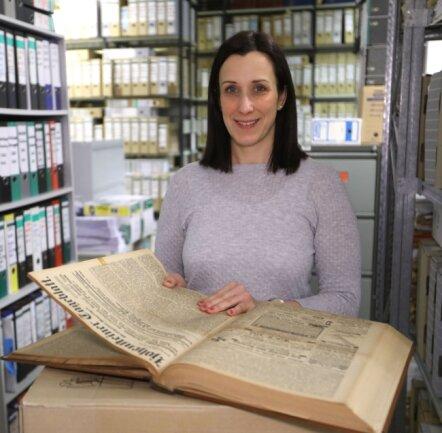 Eileen Lanick findet in alten Aufzeichnungen historische Beispiele für Ausnahmesituationen, die der Coronakrise ähneln.