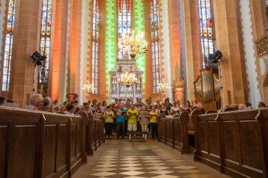 Der 26. Juli ist der Annentag - und an diesem wurde in diesem Jahr die Festwoche zum 500. Jubiläum der Kirche eröffnet.