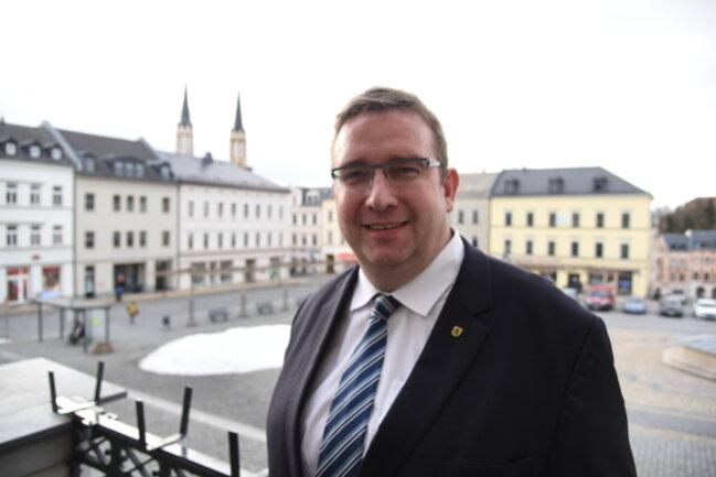 Mario Horn - CDU, Oberbürgermeister von Oelsnitz
