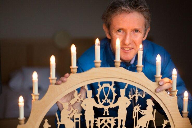 Weihnachten feiert Jens Weißflog am liebsten zu Hause in Familie und mit Gästen in seinem Hotel in Oberwiesenthal.