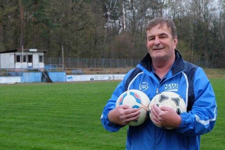 Vereinschef mit Herz für den Fußball: Frank Meyer.