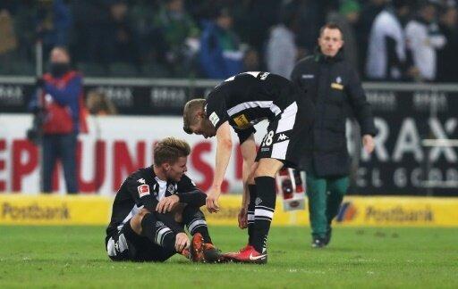 Nico Elvedi knickte im Spiel gegen den BVB um