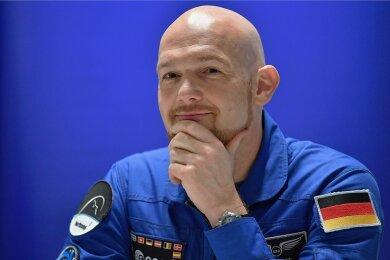 Weiß er mehr? Astronaut Alexander Gerst.