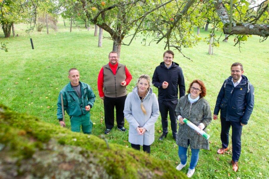 Streuobstwiese in Neundorf wächst weiter