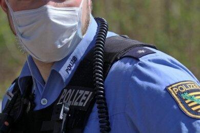 Mehr als 80 an Corona erkrankte Polizisten sind mittlerweile zu verzeichnen. Auf den Direktionskorridoren herrscht Maskenpflicht.