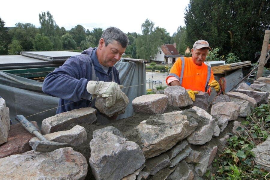 Kur für alte Stadtmauer