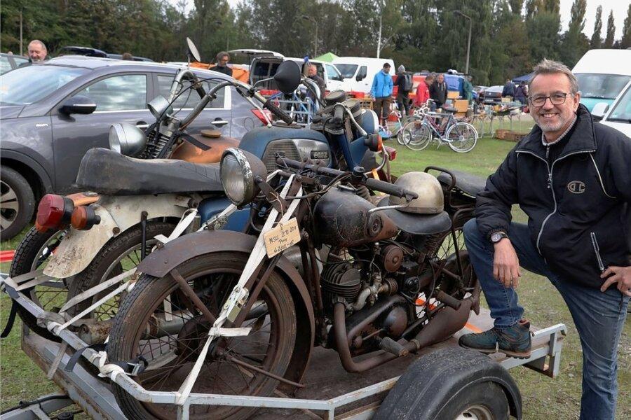 Autoteile-Markt bei Oberlungwitz: Ein Eldorado für Schrauber
