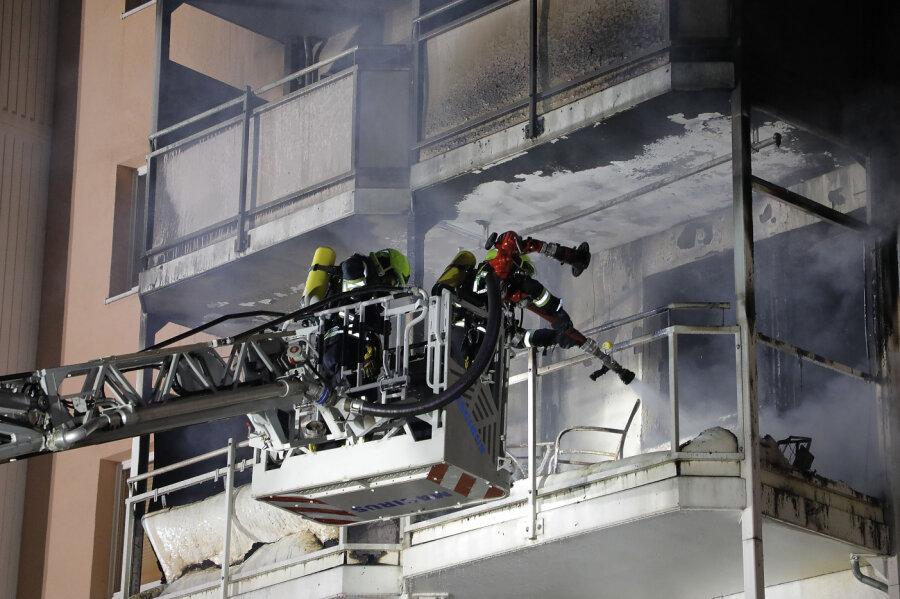 Feuer in Wohnblock - Brandursache geklärt
