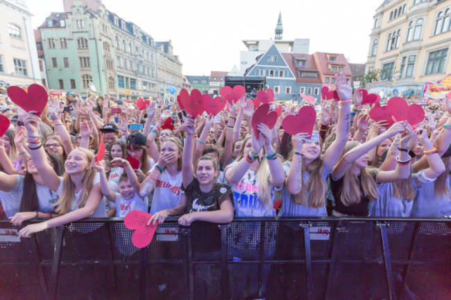 Impressionen vom Stadtfest Zwickau 2018