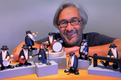 Björn Köhler mit seinen acht Musikern, die in diesem Jahr bei den Lesern den größten Zuspruch fanden.