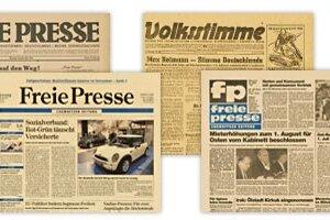 Die Freie Presse im Wandel der Zeit
