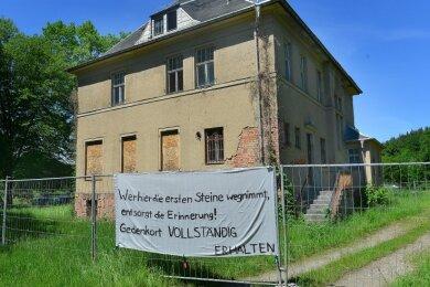 Die Kommandantenvilla des ehemaligen KZ in Sachsenburg sollte abgerissen werden.