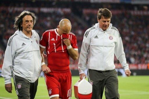 Arjen Robben musste nach wenigen Minuten verletzt raus