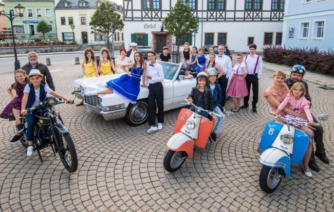 Bei den Sommer-Oldies in Zwönitz werden nicht nur tolle Tanz-Shows zu sehen sein. Auch die Freunde von Oldtimern kommen auf ihre Kosten.