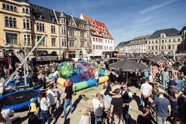 Street Food Markt kommt zum vierten Mal nach Zwickau