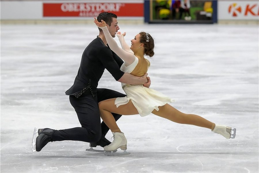 Annika Hocke und Robert Kunkel verpassten den greifbar nahen Sieg.