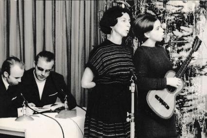 Ilse Jahreis - Bei einem Auftritt 1970 in Reichenbach.
